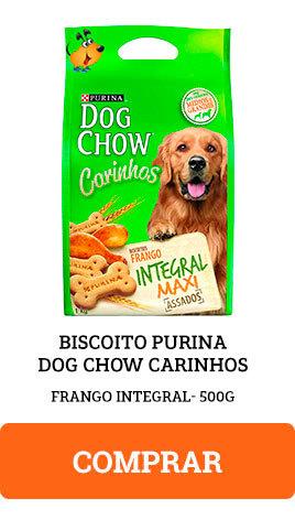 Biscoito Purina Dog Chow Carinhos Frango Integral 500g