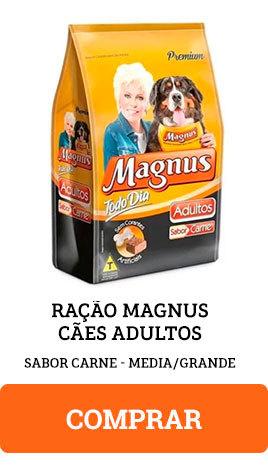 Ração Magnus Cães Adultos Sabor Carne