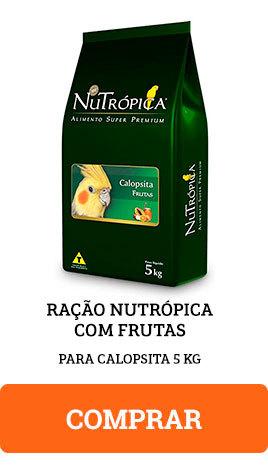 Ração Nutrópica com Frutas para Calopsitas 5kg